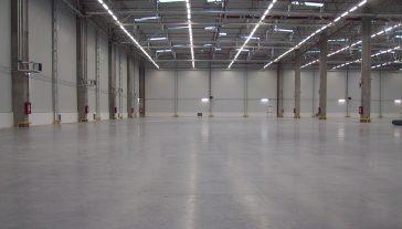Hală industrială Valeo Lighting Injection